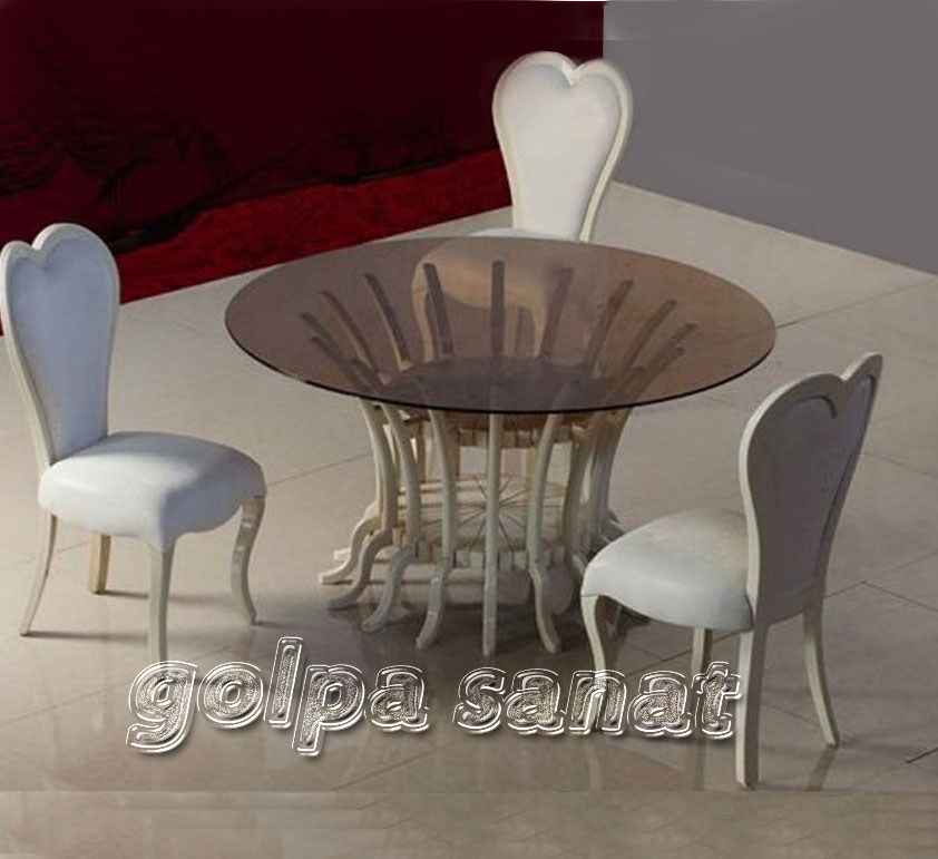 میز ناهارخوری 4 نفره لاو