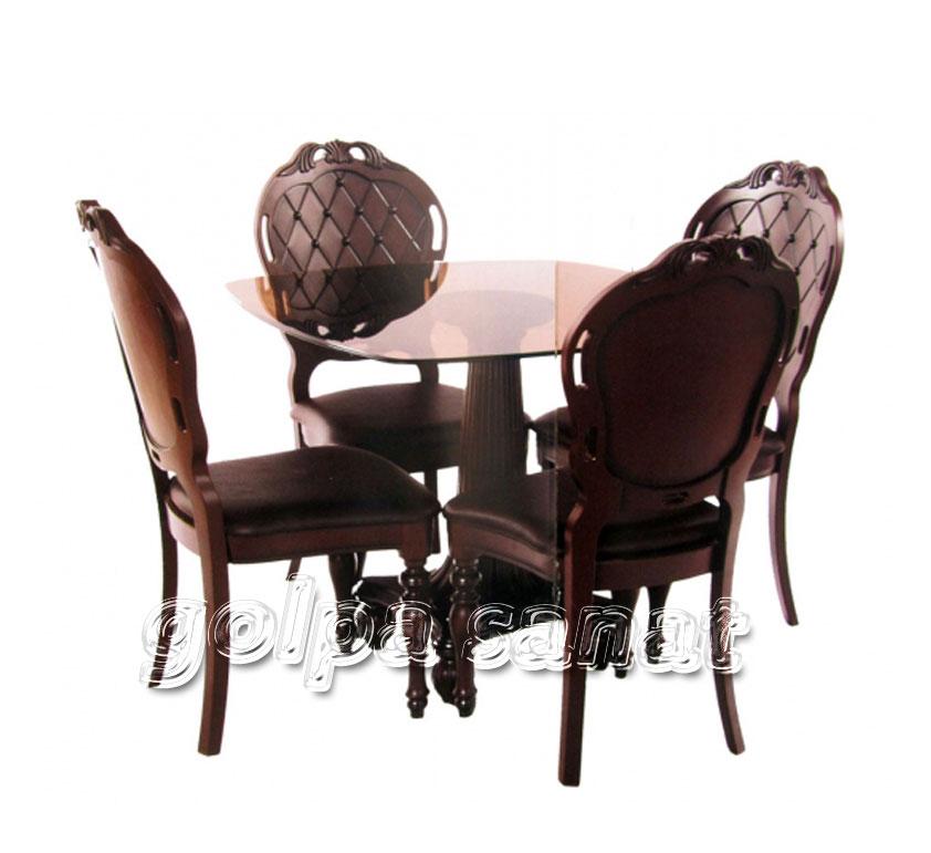میز ناهازخوری 4 نفره پارسا